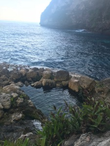 Seganing waterfall, nusa penida,, indonesia, adventure, travel, explore bali