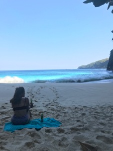 Kelingking beach in Nusa Penida, Indonesia