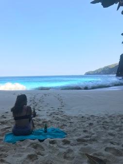 Kelingking beach in Nusa Penida, Indonesia