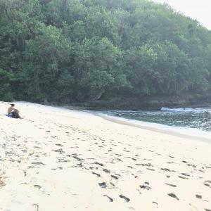 Hidden beach in Indonesia, Secret beach, Nusa Penida