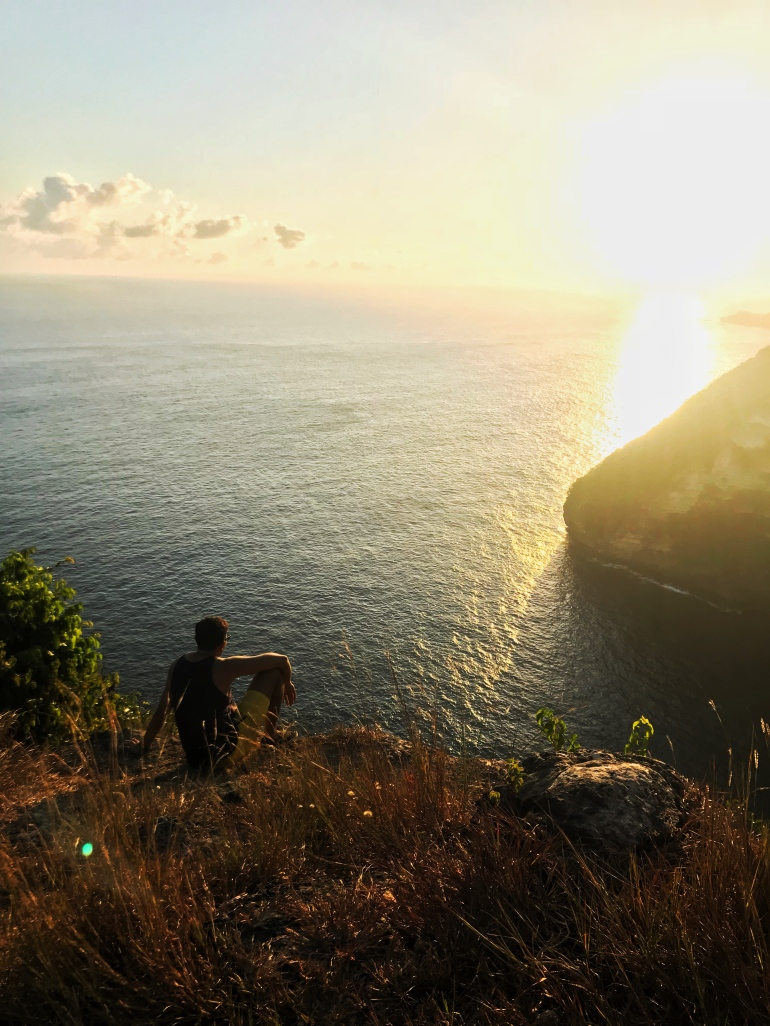Sunset, Indonesia, Nusa Penida, Sunset in Bali